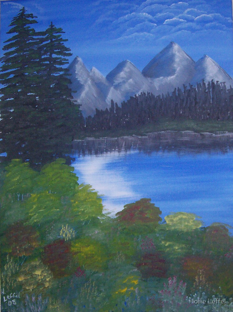 Mountains in the Distance by Hollie Leffel