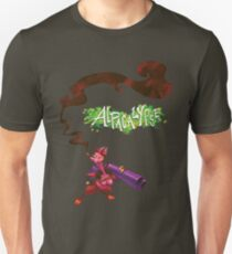 Alpacalypse Red Unisex T-Shirt