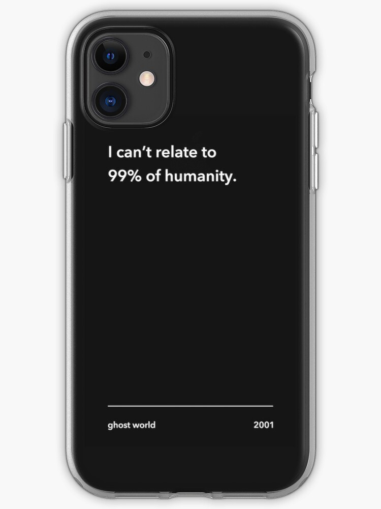 Ghost World iPhone 11 case