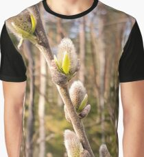 Pussy Willow Graphic T-Shirt