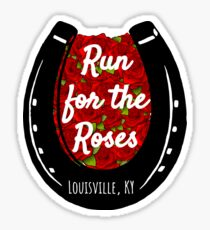 Run for the Roses Sticker