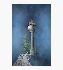 Fairy Tale Tower - Realistic Photographic Print