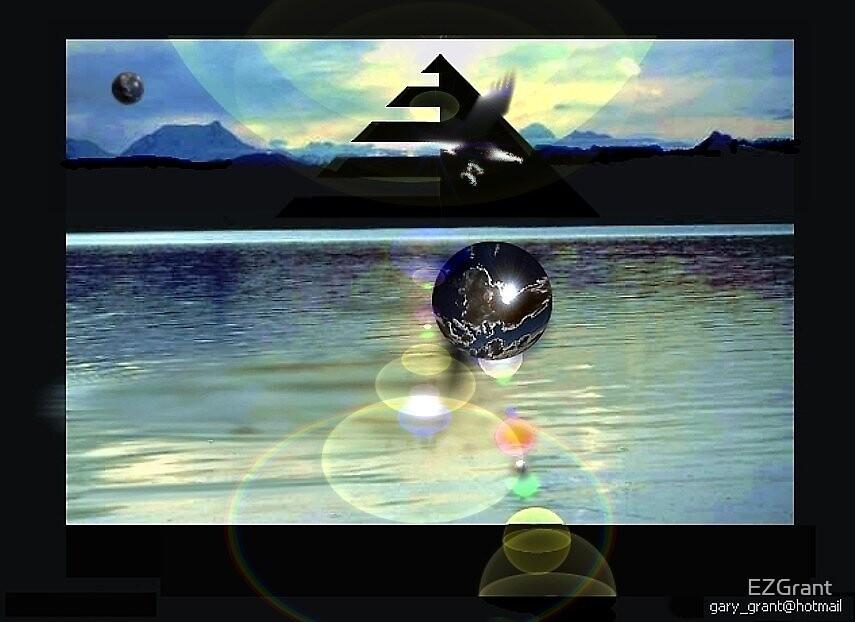 Pyramid Lake (kech'paw) by EZGrant