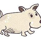 Wombat Dog by joanherlinger