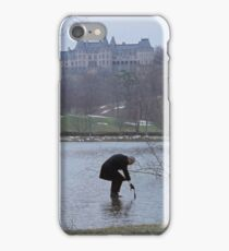 Being There Lobby Card iPhone Case/Skin