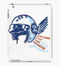 Gentlemen, start your Enthusiasm iPad Case/Skin