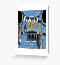 Wolf Armour Greeting Card