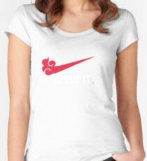 Jutsu it! Women's Fitted Scoop T-Shirt