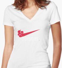 Jutsu it! Women's Fitted V-Neck T-Shirt