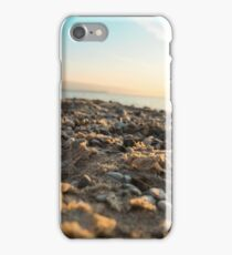Sand and Sunset at Vans Beach in Leland, Michigan iPhone Case/Skin