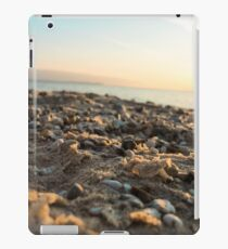 Sand and Sunset at Vans Beach in Leland, Michigan iPad Case/Skin