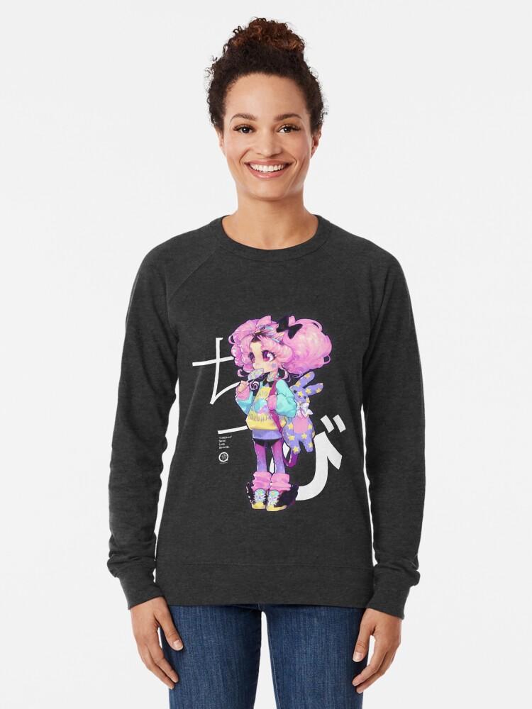 Alternative Ansicht von Chibi Leichter Pullover