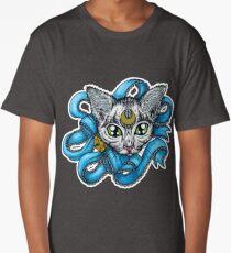 Pretty Tabby Kitty Long T-Shirt