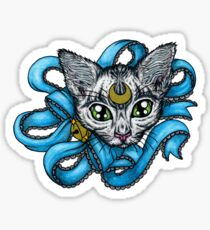 Pretty Tabby Kitty Sticker