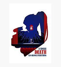 A Single Death(Beta) Photographic Print