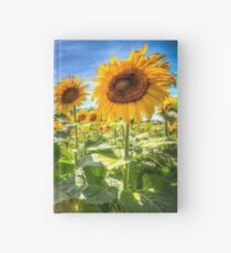 Sunflower Power! Hardcover Journal