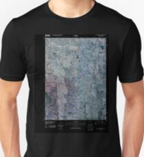 USGS TOPO Map Iowa IA Sioux City North 20100427 TM Inverted Unisex T-Shirt