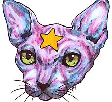 Star Cat by Lillian Cuda