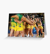 2015 Netball World Cup Greeting Card