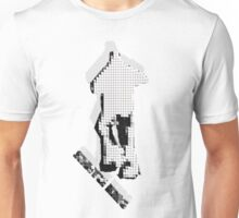 shuffle king tiled effect  Unisex T-Shirt