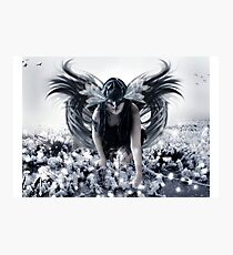 The Dark Faerie Photographic Print