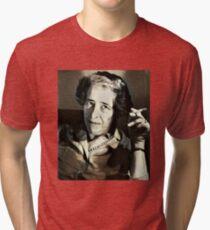 Hannah Arendt - stylized Tri-blend T-Shirt