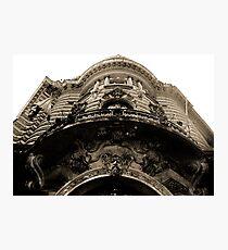 Building Facade Buenos Aries Photographic Print
