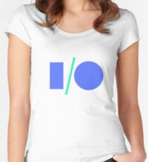 Google I/O 2017 Women's Fitted Scoop T-Shirt