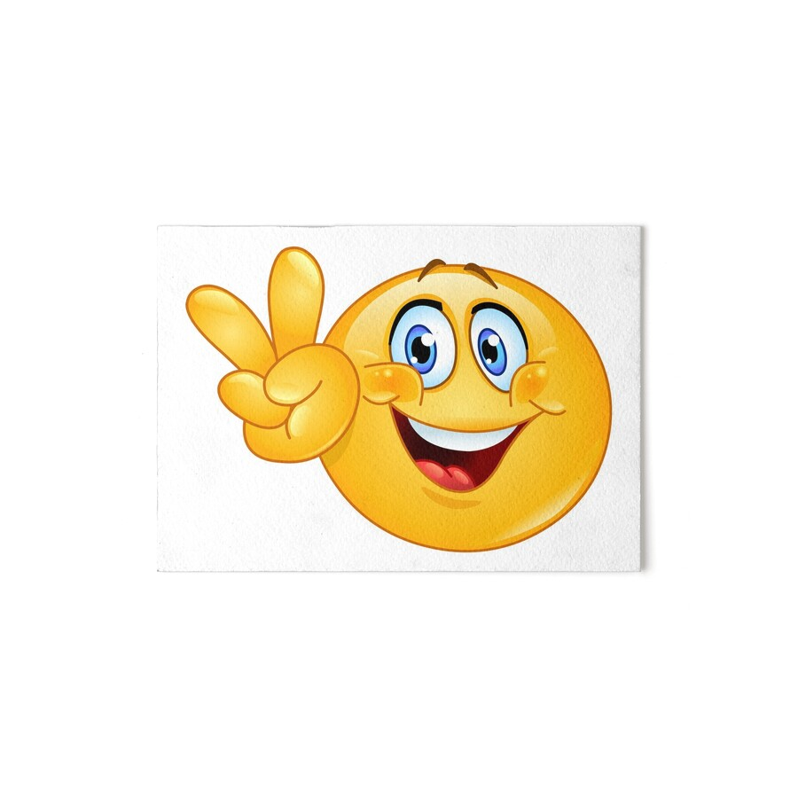 """Peace Sign Emoji"""" Art Boards by Jandsgraphics 