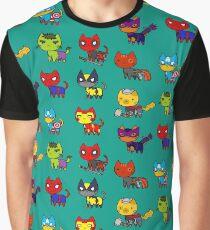 CAT AVENGERS  Graphic T-Shirt