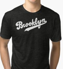 Brooklyn Logo 1 Tri-blend T-Shirt