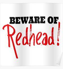 Beware of Redhead! Poster