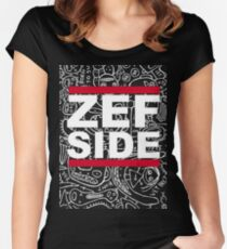 ZefSideDesign Women's Fitted Scoop T-Shirt