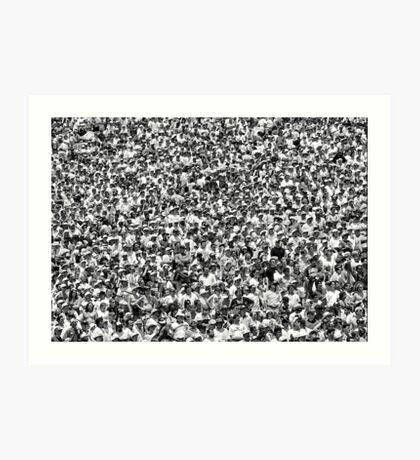 Sea of Humanity Art Print