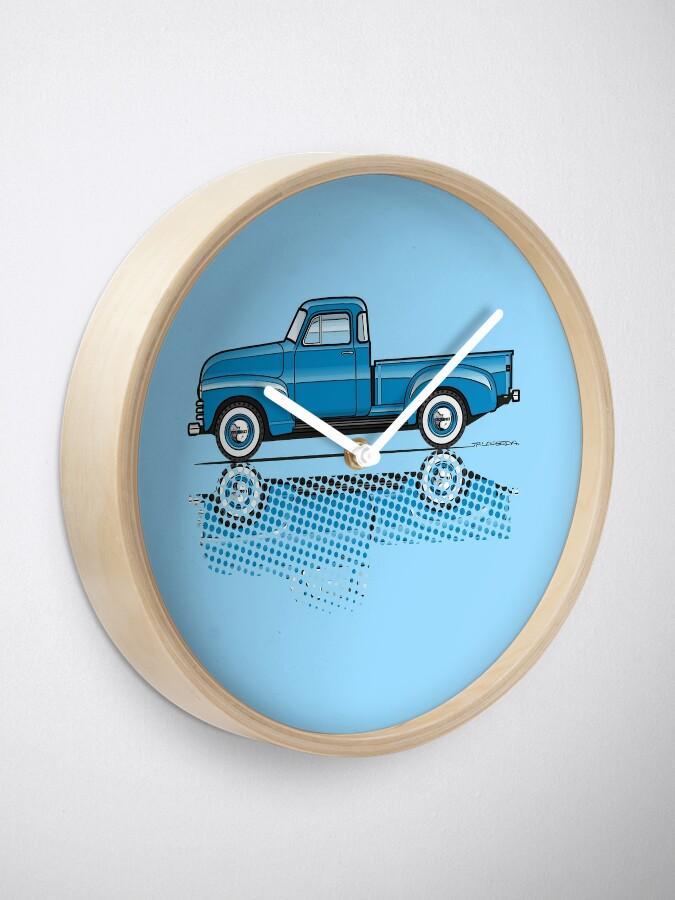 Vista alternativa de Reloj 47-54 Chevy Truck azul claro