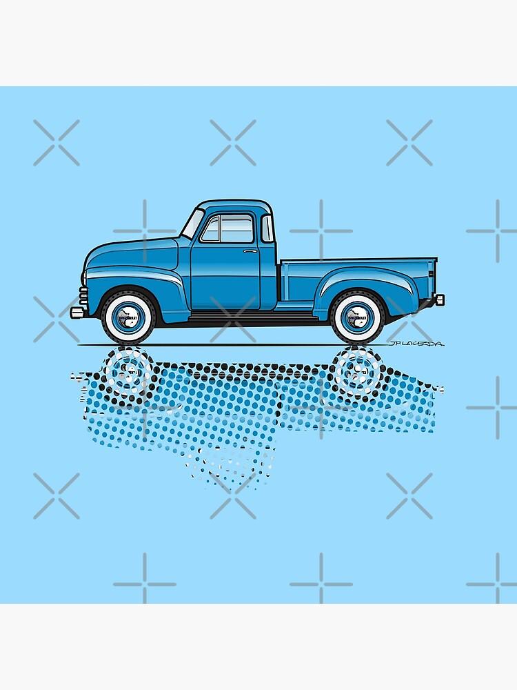 47-54 Chevy Truck azul claro de JRLacerda
