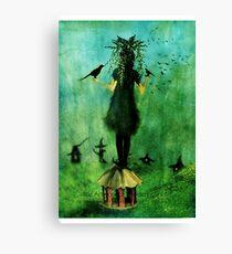 The Birds Cage Canvas Print