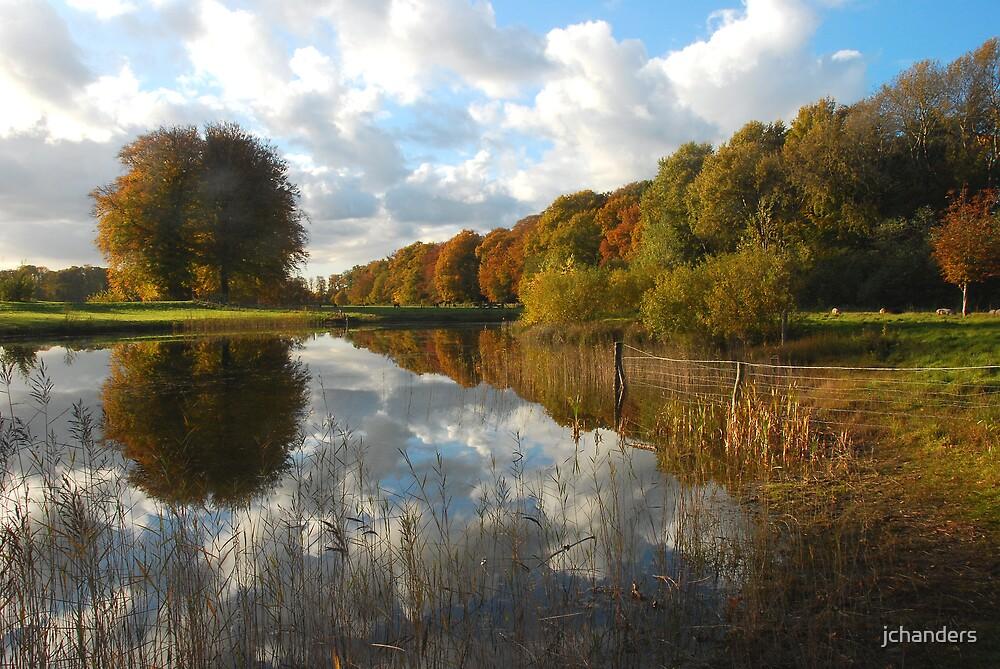 Landscape art in autumnal beauty by jchanders