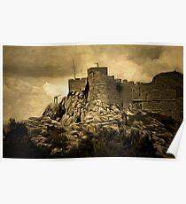 Starigrad Fortress, Omiš in Split-Dalmatia county, Dalmatia, Croatia Poster