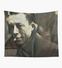 Albert Camus - stylized Wall Tapestry