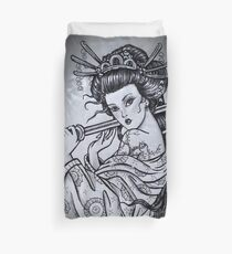 Geisha Drawing: Duvet Covers   Redbubble