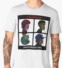 Stranger Things - Gorillaz Album Cover Style Men's Premium T-Shirt