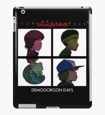 Stranger Things - Gorillaz Album Cover Style iPad Case/Skin