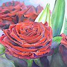 « Bouquet de roses » par cindybarillet