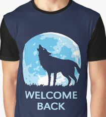 Welcome Back (Wolf) Graphic T-Shirt