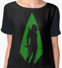 Green Arrow S5 Chiffon Top