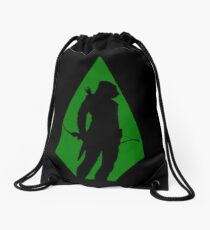 Green Arrow S5 Drawstring Bag