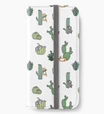 Cacti Cats iPhone Wallet/Case/Skin