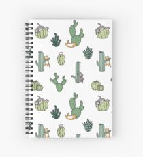 Cacti Cats Spiral Notebook