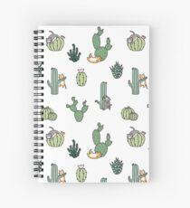 Cuaderno de espiral Gatos de cactus
